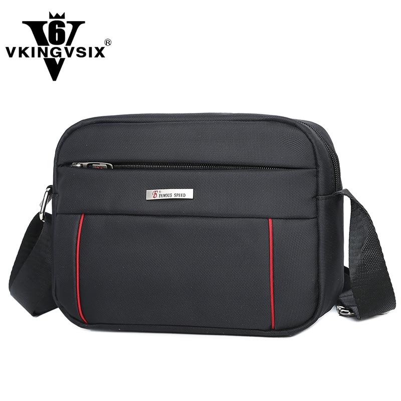 VKINGVSIXV6 Store 2017 VKINGVSIX Brand Oxford New shoulder bag 3 color select Waterproof Bag Bolsa Fashion Messenger Bag as gift for men or women