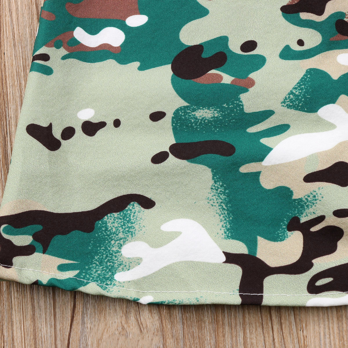 Toddler Kids Baby Girls Camouflage Clothes Long Sleeve Party Tops ...