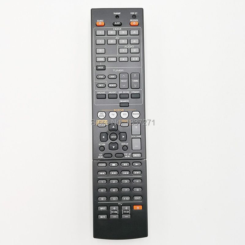 New factory original remote control  for  yamaha HTR-4065 HTR-5063 HTR-6240 HTR-6250   amplifier лобзик союз лбс 4065