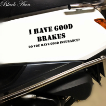I Have Good Brakes Die-Cut Vinyl Sticker Decal Funny JDM Racing Car NOS D165