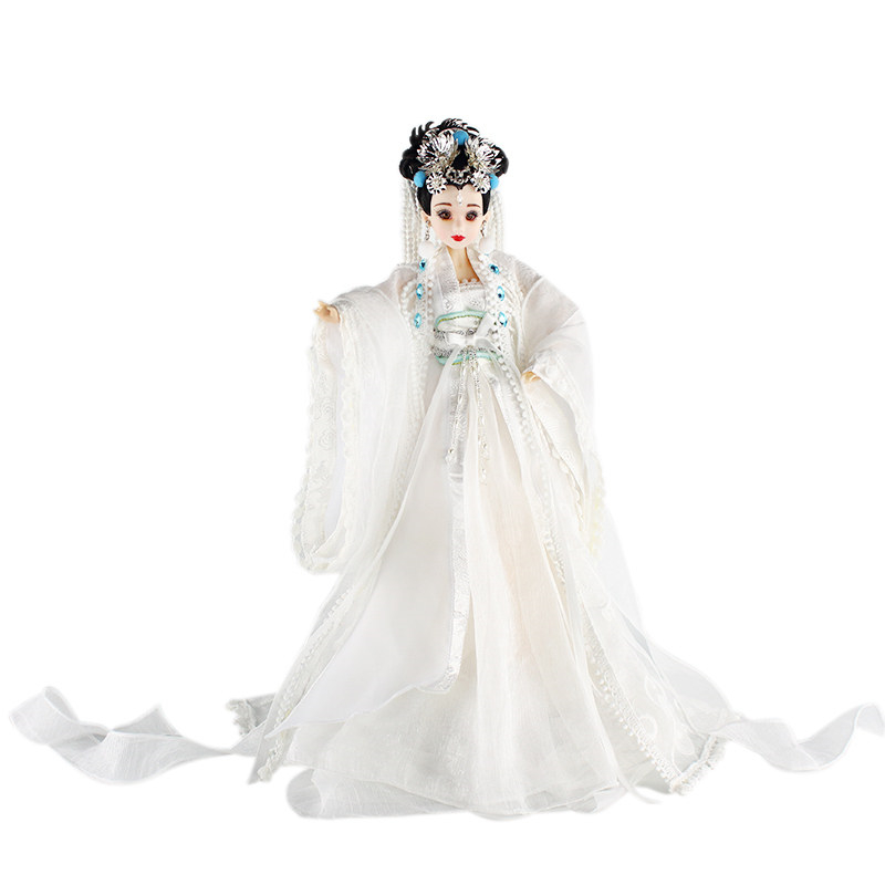6 BJD Doll china ancient cosplay the goddess of the moon the character of the new fashion women s silver moon moon goddess calla true to life s925 ring