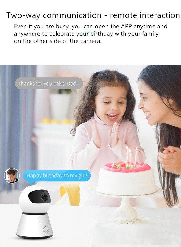 Home Camera,Home remote Wireless camera wifi home remote cloud storage 720P HD smart network surveillance cameras wifi wireless network hd head cloud monitoring smart camera phone remote broadcast