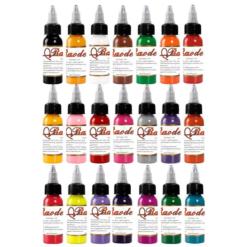 21  1oz Tattoo Ink Pigment Set Kits Body Arts 30ml black Professinal Beauty Permanent Makesup Paints Accesories21  1oz Tattoo Ink Pigment Set Kits Body Arts 30ml black Professinal Beauty Permanent Makesup Paints Accesories
