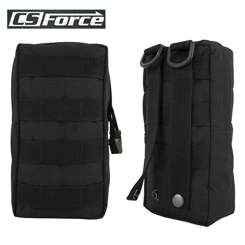 Taktik programı Molle kılıfı EDC Gadget çantası dokuma 600D naylon kompakt suya dayanıklı çok amaçlı dişli asılı aksesuar çanta