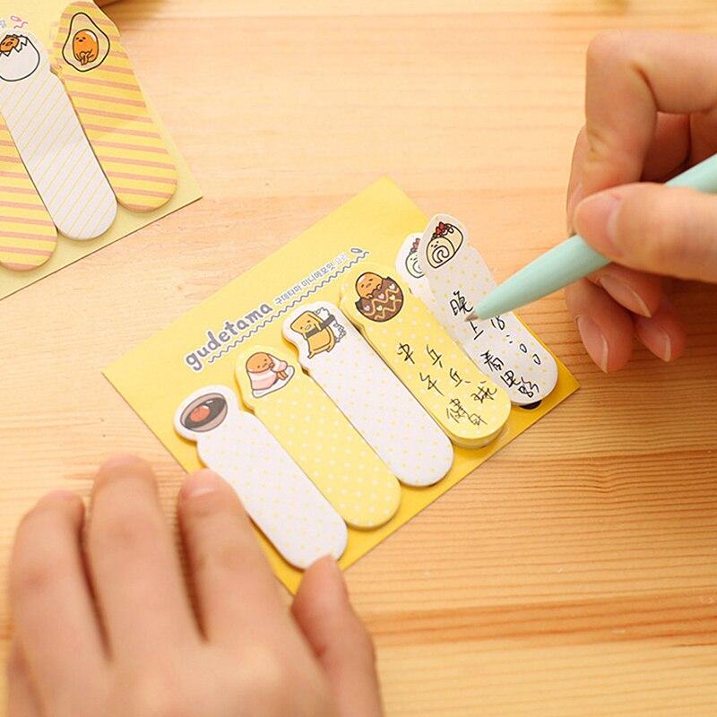 Cute Mini Kawaii Memo Pad Sticky Notes Creative Cartoon Post It Note For Kids Gift School Supplies D14