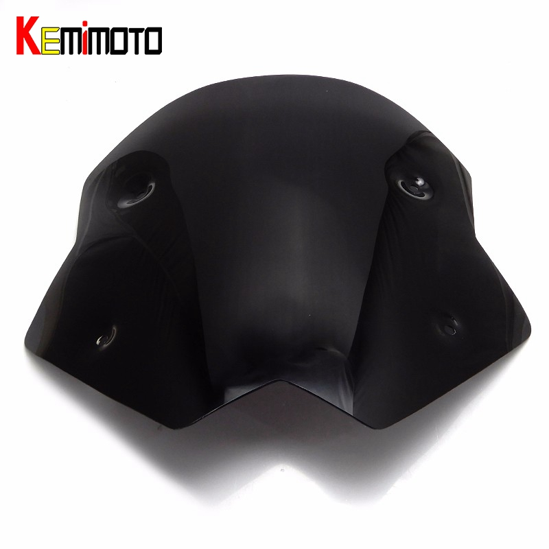 KEMiMOTO for TMAX 530 Short Windscreen Windshield Screen Protector for YAMAHA TMAX 530 TMAX530 2012 2014