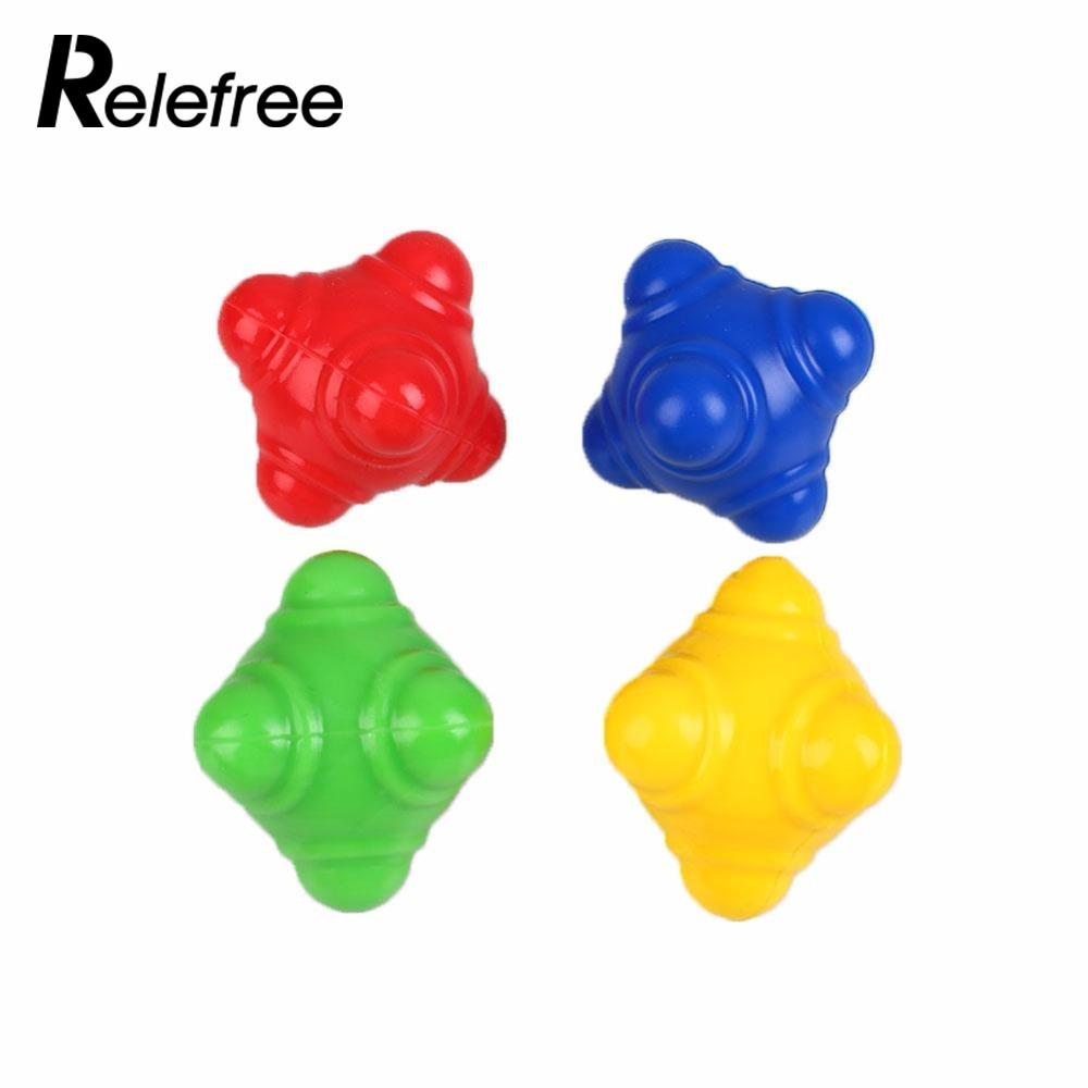 High level Silicone Hexagonal Reaction Ball Agility Coordination Reflex Exercise Training Ball Sports Fitness Training