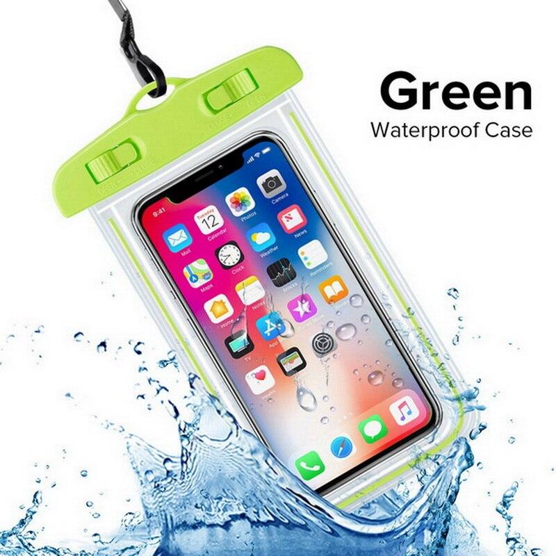 INIU, Универсальный Водонепроницаемый Чехол для huawei P30 P20 P10 Lite mate 20 10 Pro Nova 3e, чехол для мобильного телефона, водонепроницаемая сумка - Цвет: Green