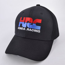 High quality Baseball Cap HRC Honda Racing Car Fans1 embroidery Mens Womens Baseball Caps Adjustable Snapback Hats Bone(China)