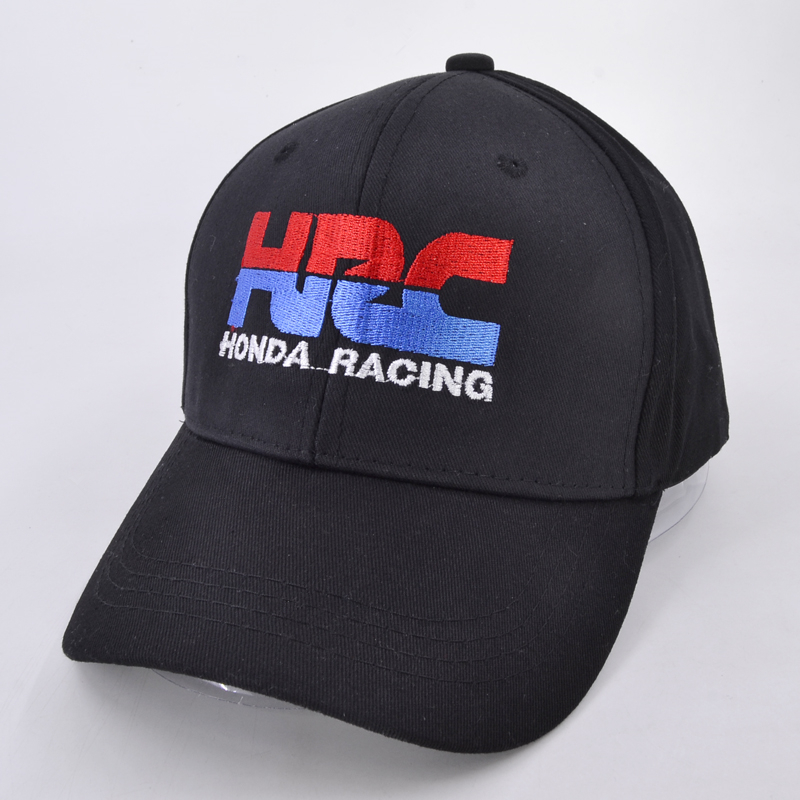 High quality Baseball Cap HRC Honda Racing Car Fans1 embroidery Mens Womens Baseball Caps Adjustable Snapback Hats Bone