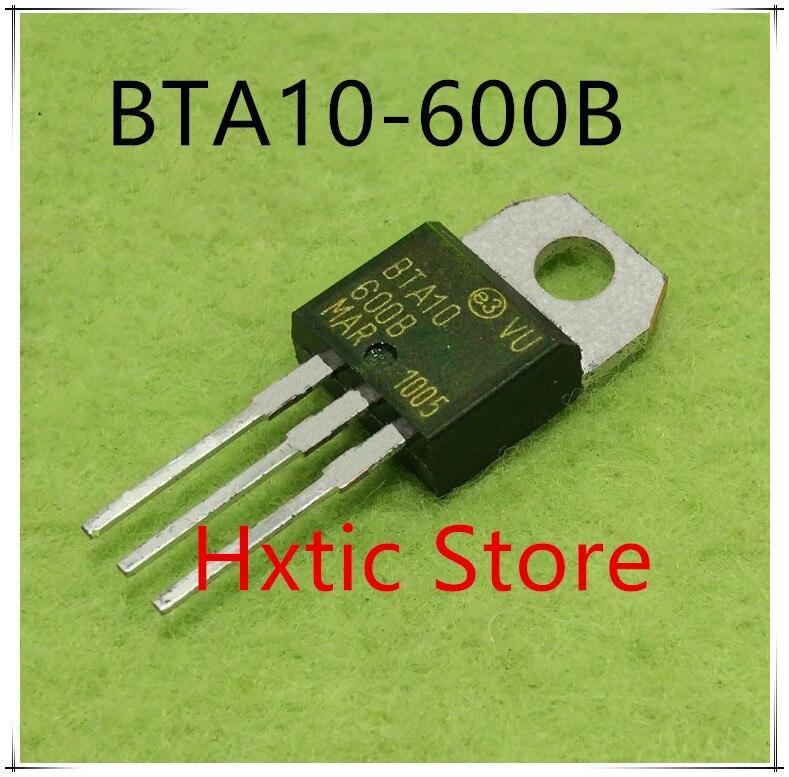 10pcs BTA10-600B BTA10-600 TO-220 TO220 BTA10 10A New Original