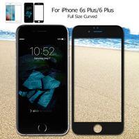NILLKIN 아이폰 6 초 플러스/6 플러스 3D CP + 최대 전체 크기 곡선 강화 유리 화면
