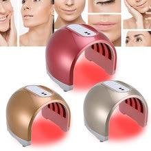 4 Color PDT Acne Removal Machine Tender Skin LED Light Therapy Beauty Machine EU US UK Plug ecc
