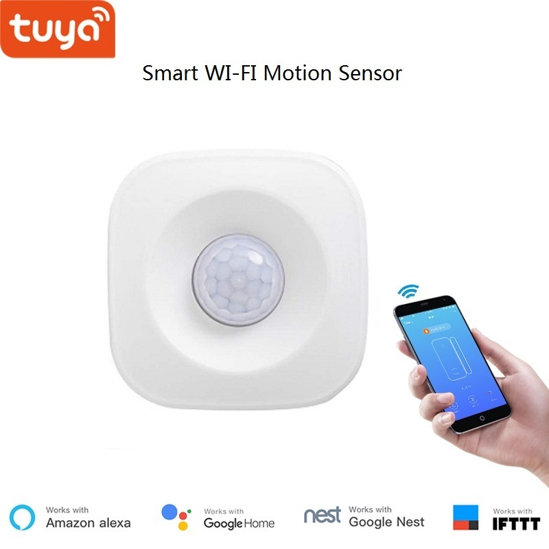 PIR Motion Sensor Switch,High Accurate Infrared Smart On/Off Lights Work with Alexa and Google Home WiFi Smart Switch