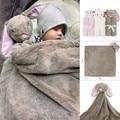 Mantas de bebé Muselina Swaddle manta suave pañales del bebé Recién Nacido accesorios de Fotografía