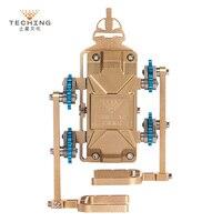 Teching цельнометаллический сборки робота Walker Поддержка app Управление DIY Строительство Модель Наборы для исследования/Коллекция/подарок/ игру