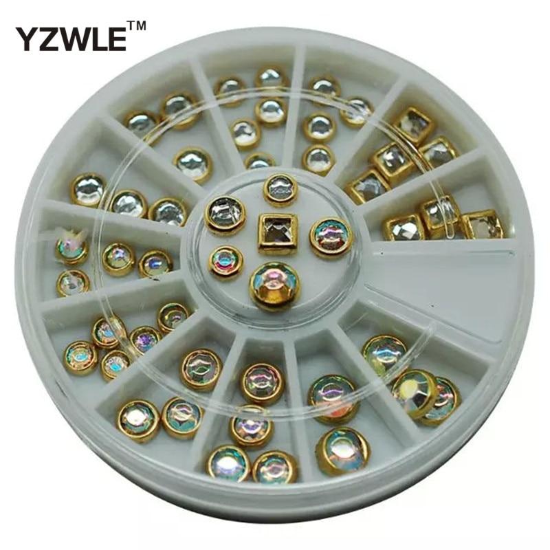 Yzwle 1 Rad Nail Art Strass & Dekoration Für Diy Nägel Kunst Zubehör Mode Dekorationen Schönheit Werkzeuge Strass & Dekorationen yzw-d-js20 Schönheit & Gesundheit