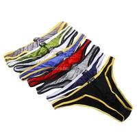 8PCS Mens Sexy Modal Underwear Briefs Men Low Rise U Convex Pouch Brief Underwear Men Stretch Breathable Briefs Free Shipping