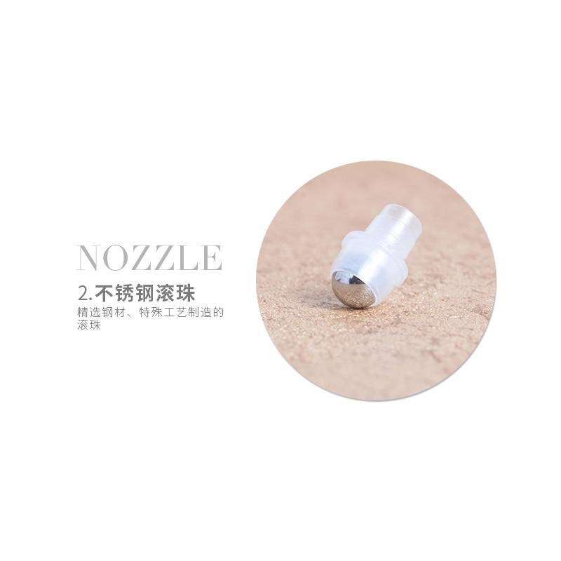 MUB - 1 pc 5ml Mini Botol Parfum Kaca Isi Ulang Dengan Roll-on - Alat perawatan kulit - Foto 6