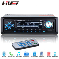 NEW 12V Car MP3 Player Bluetooth Stereo FM Radio Coche Audio Music USB Charger AUX SD