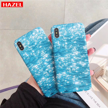 Купить с кэшбэком New fashion Case for iPhone X 10 XS MAX XR Water ripple road Soft silicone Cases for iPhone 6 6s Plus 7 8 Plus funda Cover Coque