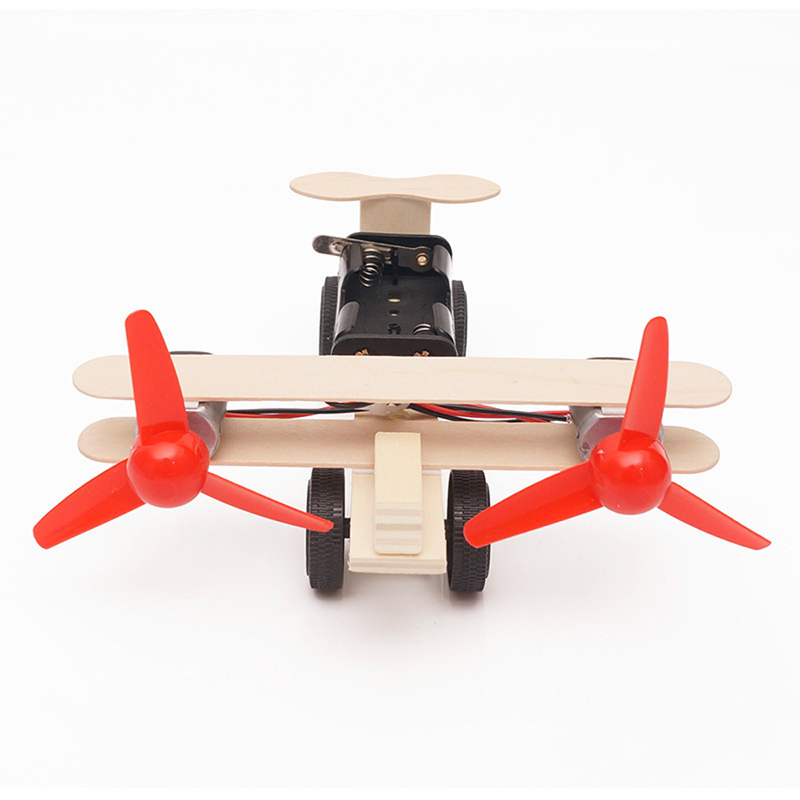 Electric Taxiing Aircraft Model Accessories 1PC DIY Science And Technology Small Inventions Scientific Experiments Science Toys