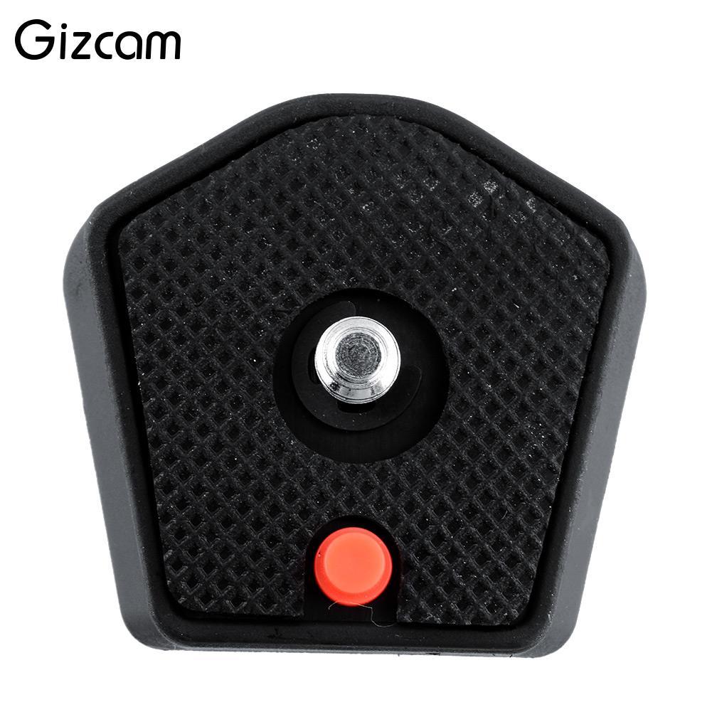 Gizcam Tripod 785PL Quick Release Mounting Plate for Manfrotto 715B 715SHB 725B 718SHB Tripod 1/4 screw 785pl-14