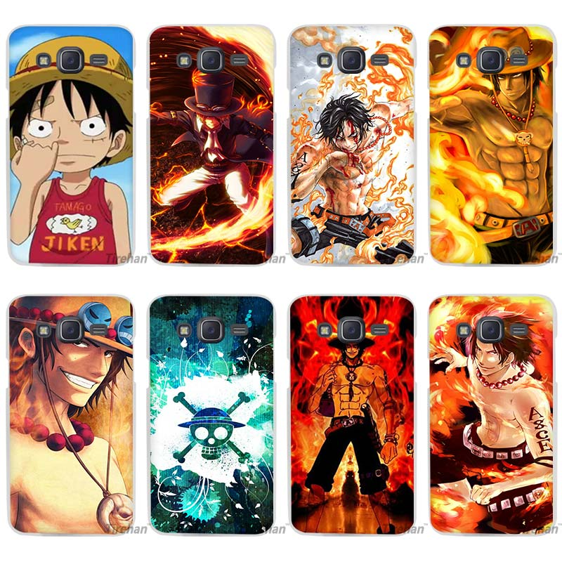 cartoon One piece Clear Case Cover Coque Shell for Samsung Galaxy J1 J2 J3 J5 J7 2016 2017 Emerge
