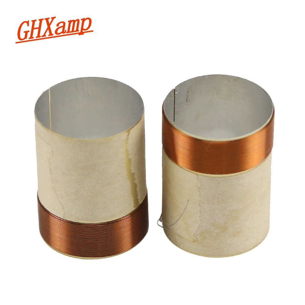 medium resolution of ghxamp 20core bass voice coil 20 4mm ksv 8ohm round copper wire for 4 inch 5