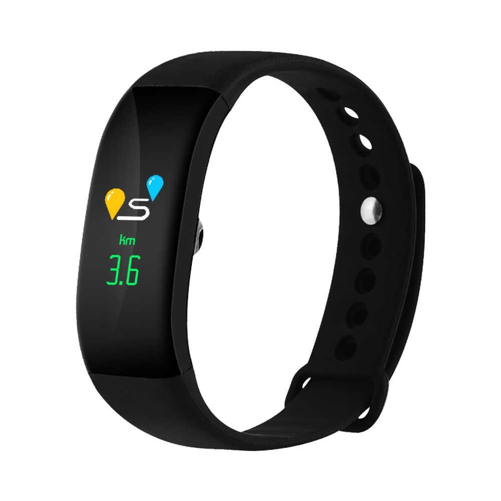 כושר חדש חכם להקת יד שעון צמיד ספורט Oximeter חמצן דופק לחץ דם אינטליגנטי עבור iOS אנדרואיד