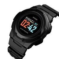 Skmei Sport Digital Led Smart Watch Women Men For Android IOS Smartwatch Fitness Tracker New Electronics Smart Clock Wach 1438