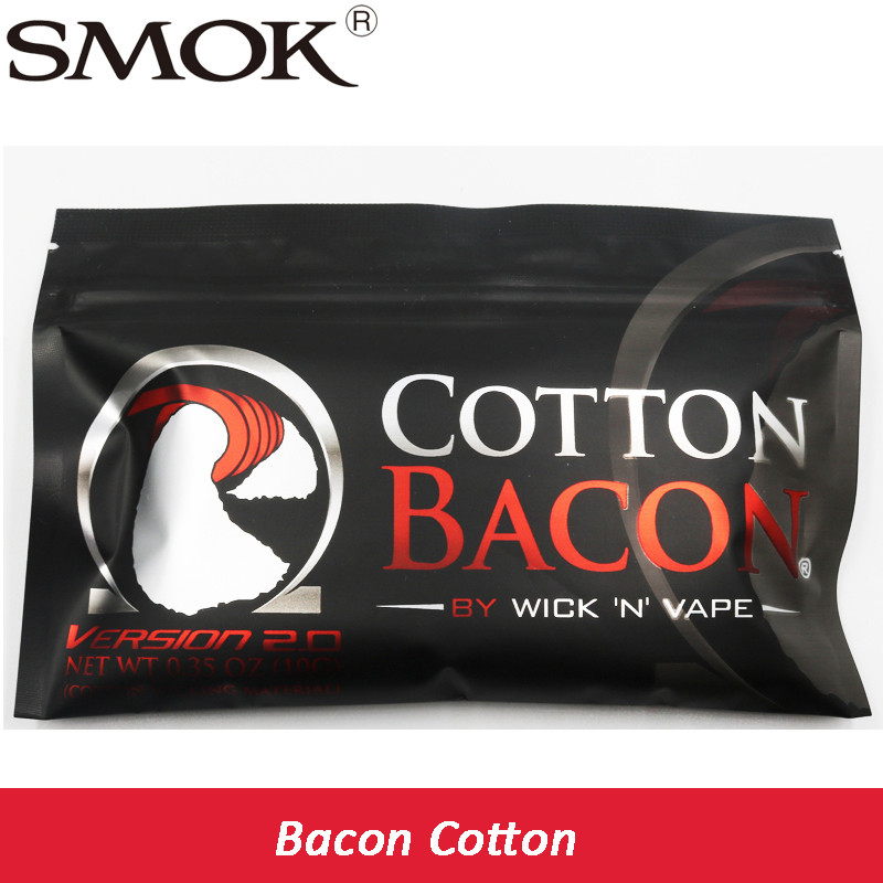 original high quality Cotton Bacon rda cotton For Electronic Cigarette RDA RBA Atomizer hd rda with side adjustable airflow for e cigarette