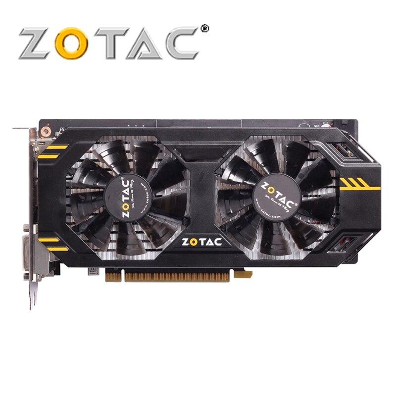 ZOTAC Video Card GeForce GTX 650Ti 1GD5 Fireboats Edition 128Bit 650 Ti GDDR5 Graphics Cards For NVIDIA Original Map GTX650Ti