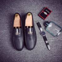 Big Size 39 44 High Quality Soft Leather Men Shoes Comfort Moccasins Loafers Fashion Brand Men