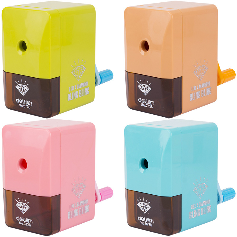 0736 Pencil Sharpener Automatic Student Creative Cute Automatic Pencil Sharpener Learning Stationery  Office Supplies