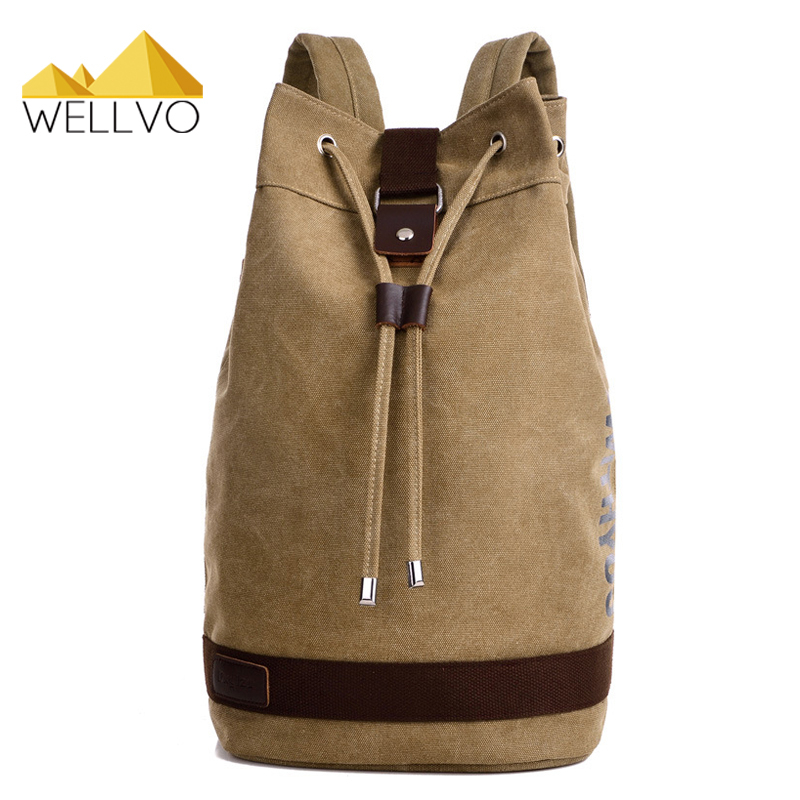 Wellvo Large capacity Man Travel Bag Mountaineering Backpack Bucket Backpacks Multifunctional Military Bags Mochila 2017 XA2140C