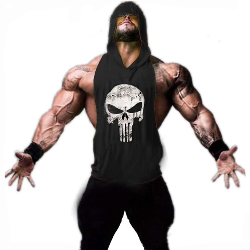 ZYZZ Mens Hoodie Singlets Džemperi Mens Tank Tops Stringer Fitness Vīriešu krekli Vest