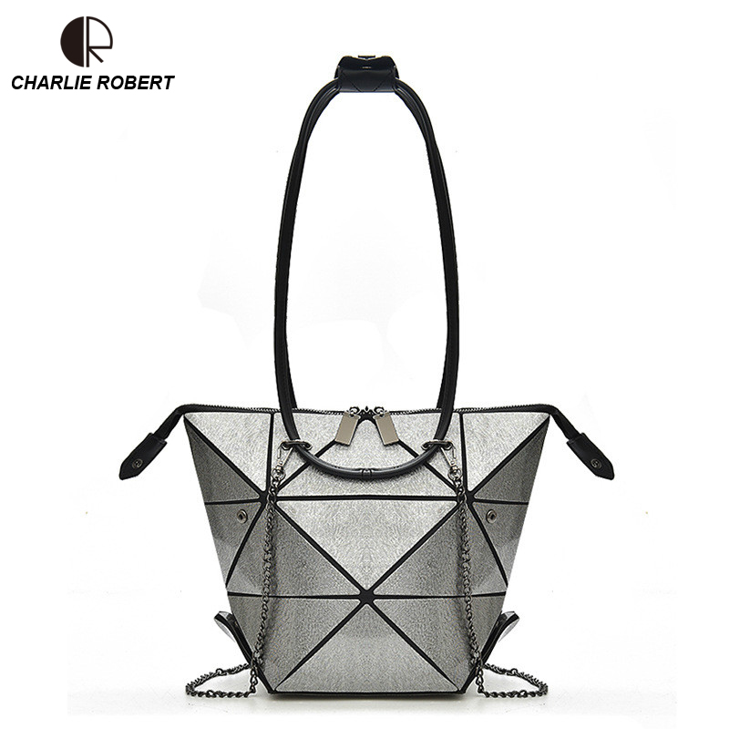 2019 New Spring Style Women Lady Casual Geometric Tote Three Shapes Six Colors Water Droplets Hard Fashion Top-Handle Bags 2019 New Spring Style Women Lady Casual Geometric Tote Three Shapes Six Colors Water Droplets Hard Fashion Top-Handle Bags