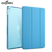 Leather Case Smart Cover For Apple ipad 2/3/4 Ultra Thin Solid Flip Stand Candy Color Cover Case Protective Skin Funda