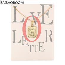 12 шт карточка модный бренд серия 26 английские буквы Алфавит