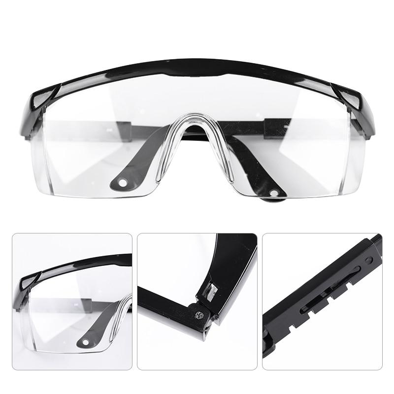 1Pc White Black Anti UV Glasses For UV Gel Polish Big Frame UV Glasses Manicure Nail Art Tool Accessories Kits Random Color