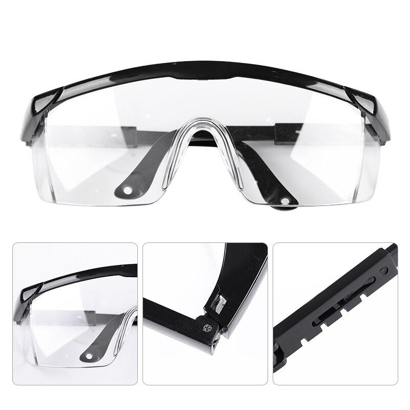 1Pc White Black Anti UV Glasses For UV Gel Polish Big Frame UV Glasses  Nail Art Tool Accessories Kits Random Color