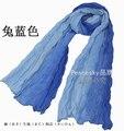 2015 Hot Sale Women Fashion Gradient Color Scarf Shawl Warm Soft Cotton Silk Long Feminina Bufanda Winter Colorful Scarf Cape