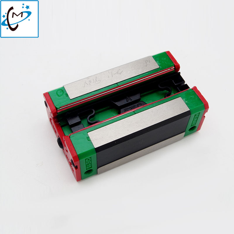 Hot sale Wit color 2000 3000 large format printer linear guide block infiniti iconteck phaeton block slider bearing hot sale inkjet printer belt for wit color flora titanjet bemajet large format printer spare part