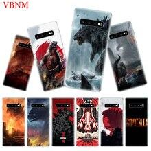 Godzilla Gojira Popular Phone Case for Samsung Galaxy S10 Plus S10E A50 A70 A30 A10 A20E M40 M30 M20 M10 A20 A80 A40 A60 Cover