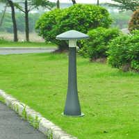 Forma de cogumelo conduziu a luz do gramado do jardim ao ar livre luzes de gramado lâmpada villa paisagem à prova d' água