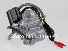 24mm Carb Carburetor 125cc 150cc 150 Scooter Roketa SUNL For Honda GY6 4Stroke PD24J