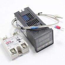 טמפרטורת בקר דיגיטלית טרמוסטט REX C100 3 in 1thermostat rex-c100digital temperature controller thermostattemperature controller thermostat