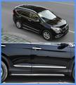 El envío gratuito! alta calidad ABS Cromos 4 unids side panel de la puerta/puerta lateral streamer/lado del bar Para Honda CRV 2012-2016