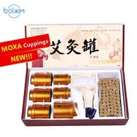 Chinese Moxa Moxibustion Acupuncture Cupping Device Multifunctional Moxibustion Apparatus Box Moxa Grass Fire Moxibustion Pot
